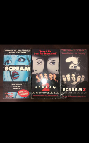 scream vhs for Sale in Paramount, CA