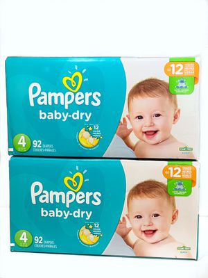 Size 4 Diapers 184 count for Sale in Virginia Beach, VA