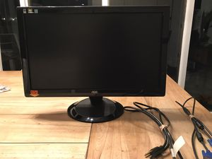 "AOC 21"" Monitor Black for Sale in Smithtown, NY"