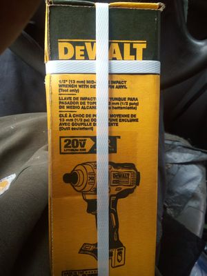 DeWalt 20 volt 1/2 inch impact brushless for Sale in Stanwood, WA