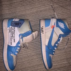 Off White Jordan 1 UNC Size 10 for Sale in Franklin, TN