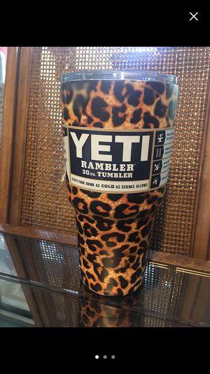 Cheetah Yeti Rambler 30oz New for Sale in Blountville, TN