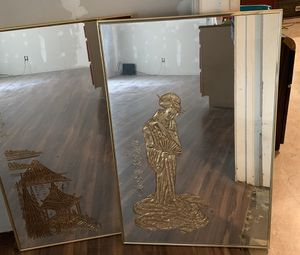 Asian themed wall mirrors for Sale in CORP CHRISTI, TX