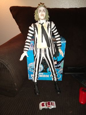 "Neca talking Beetlejuice 18"" collectible toy figure for Sale in Tempe, AZ"
