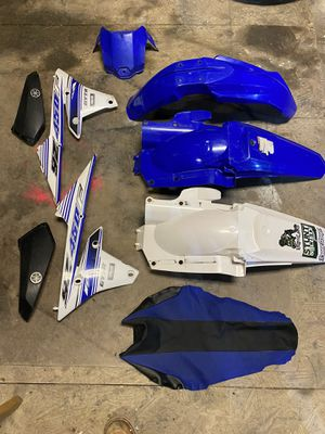2016 yz450 plastic for Sale in Maple Park, IL