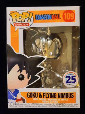 Dragon ball z goku on nimbus chrome funko !!! for Sale in Phoenix, AZ