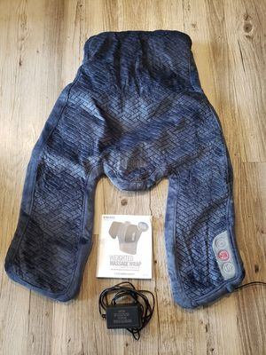 Homedics Weighted Nassage Wrap with Heat for Sale in Centerville, UT