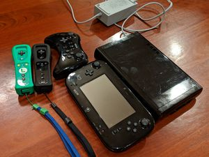 Nintendo Wii u console and the controllers for Sale in Issaquah, WA