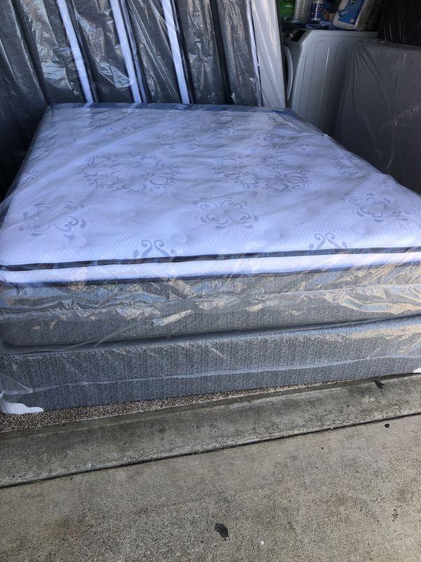 Queen set mattress brand new