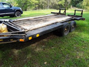 16' heavy duty dove tail trailer for Sale in The Plains, VA