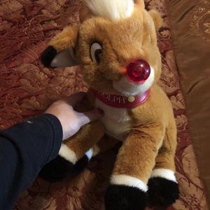 Rudolph Stuffed Animal for Sale in Philadelphia, PA