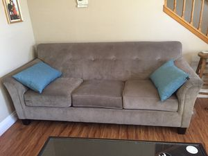 Grey couch and love seat for Sale in San Jose, CA