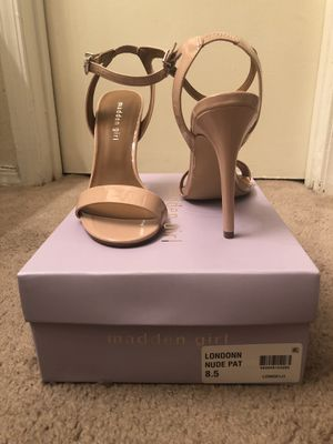 Madden Girl Nude Patent Leather Heels for Sale in Tucker, GA