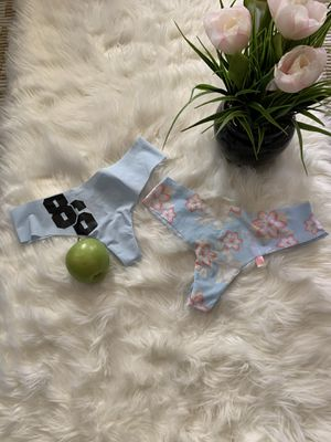 Pink by Victoria Secret thongs size small for Sale in South Gate, CA