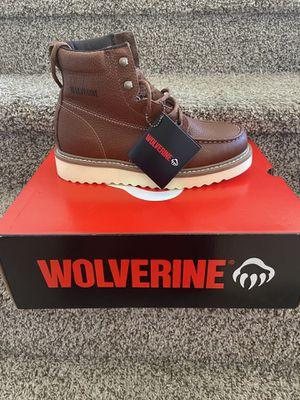 Wolverine Soft Toe Work Boots/Botas de trabajo Wolverine sin casquillo for Sale in Highland, CA