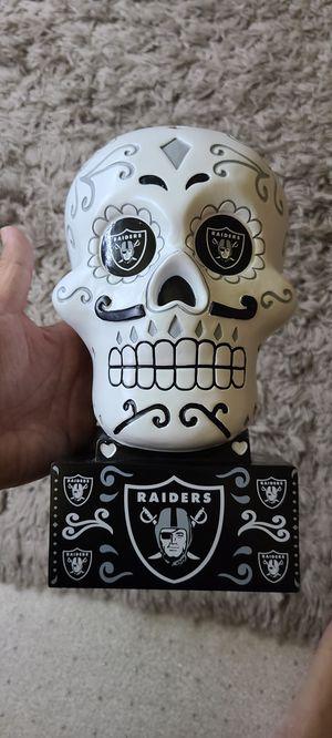 Las Vegas Raiders Sugar Skull Collectable statue. for Sale in Fremont, CA