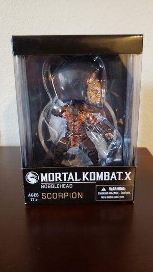 Mezco Mortal Kombat Bloody Scorpion Bobblehead Arcade Block Exclusive for Sale in Vancouver, WA