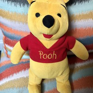 """Gently Used 12"""" Winnie The Pooh Stuffed Animal Plush for Sale in Pinellas Park, FL"""