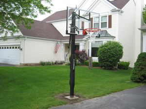 Goliath 54 inch basketball hoop for Sale in Los Angeles, CA