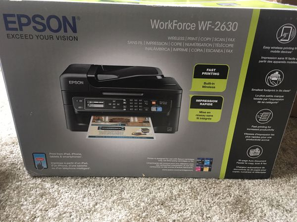 Brand New Printer/Scanner/Fax