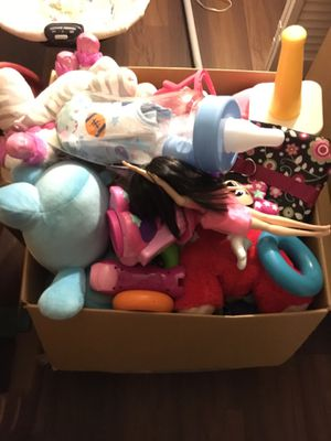 Box of toys for Sale in Lake Worth, FL