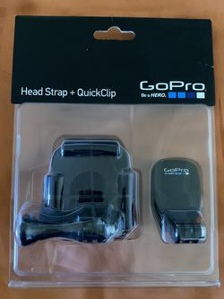 GoPro Head Strap & QuickClip for Sale in San Francisco,  CA