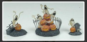 Hawthorne Village Nightmare Before Christmas Haunting Ghosts brand new in sealed Styrofoam for Sale in Virginia Beach, VA