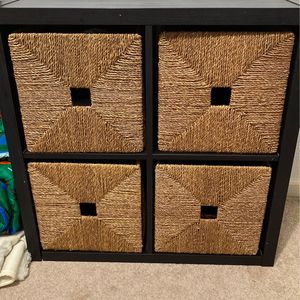 IKEA Shelf Unit WITH BOXES for Sale in Happy Valley, OR