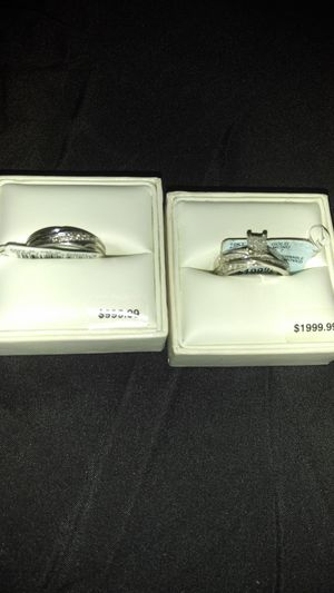 Three Pieces Wedding Rings for Sale in Jacksonville, FL