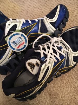 Custom NHL St. Louis Blues Reebok Shoes - men's size 13 for Sale in Pittsburgh, PA