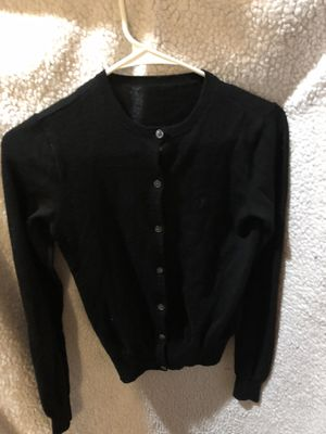 Black long sleeve sweater Size Small for Sale in undefined