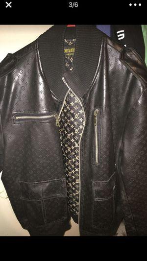 Louis Vuitton Men Bomber jacket szLarge for Sale in Denver, CO