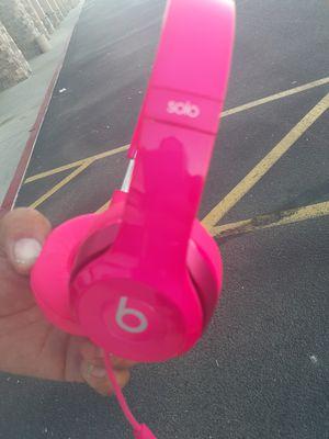 Solo Beats Bright Pink for Sale in Phoenix, AZ