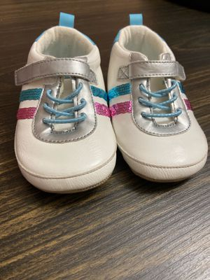 "18-24 month girl shoes "" ro + me by Robeeze"" almost new for Sale in Rockville, MD"