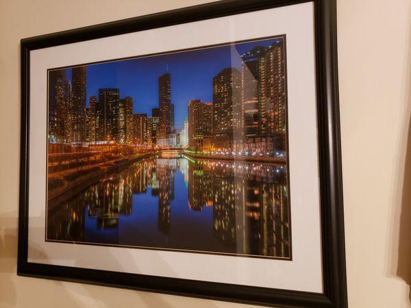 Chicago skyline picture