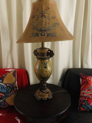 $30. Two beautiful hand painted lamps. for Sale in Lincoln Acres, CA