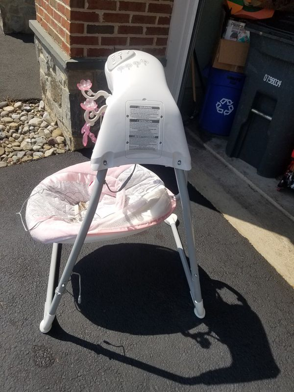 FREE Infant swing with light and lullaby songs