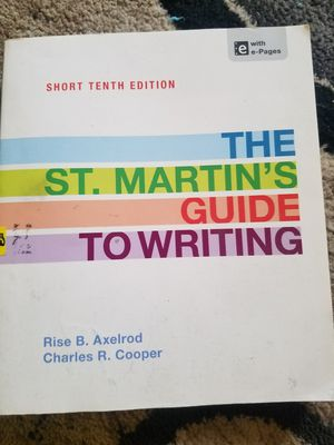St. Martin's Guide to Writing for Sale in Denver, CO