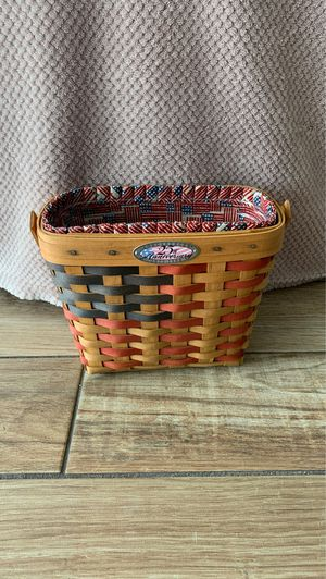 Longaberger 1998 25th Anniversary Flag Basket for Sale in Dunedin, FL