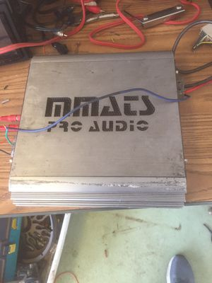 MMATS Pro audio 2000W D Class One channel for Sale in Bloomington, CA