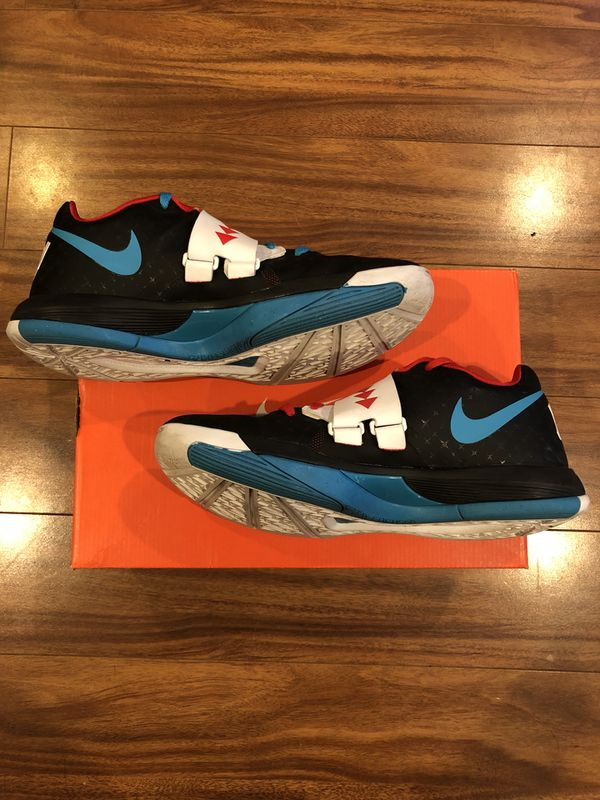 3525f18230b Nike Basketball KD 4 N7 Black sz 9.5 for Sale in Daly City