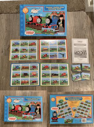 Thomas' Station Stop Matching Game for Sale in Naperville, IL