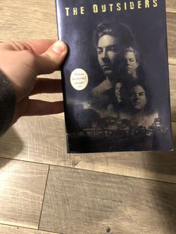 The Outsiders By S.E Hinton With Bonus Materials Exclusive Interview for Sale in Los Angeles,  CA