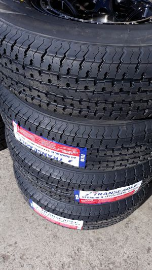 St225 75 r15 trailer tires $220 for Sale in Chino, CA