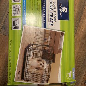 "24"" Double Door folding Crate for Sale in Sacramento, CA"