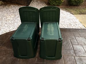 Two Tamar Storage Containers for Sale in Acworth, GA