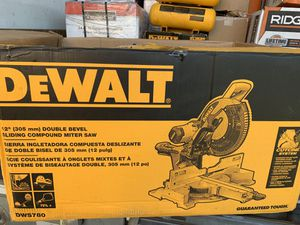 """12"""" double bevel sliding compound miter saw new for Sale in Lakeland, FL"""
