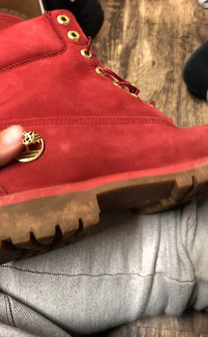 Timberland red limited release for Sale in Manassas, VA