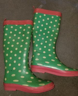 Rain boots size 3 for Sale in Fontana, CA