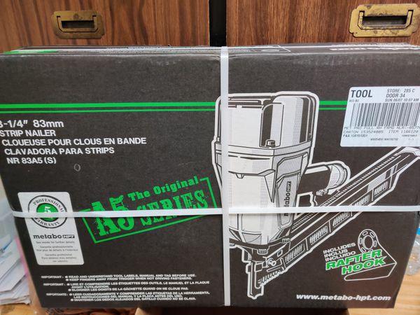 Brand New In the box metabo framing nail gun